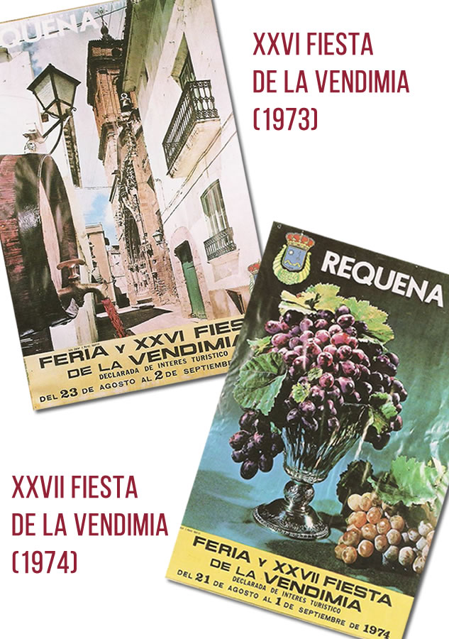 XXVI y XXVII Fiestas de la Vendimia