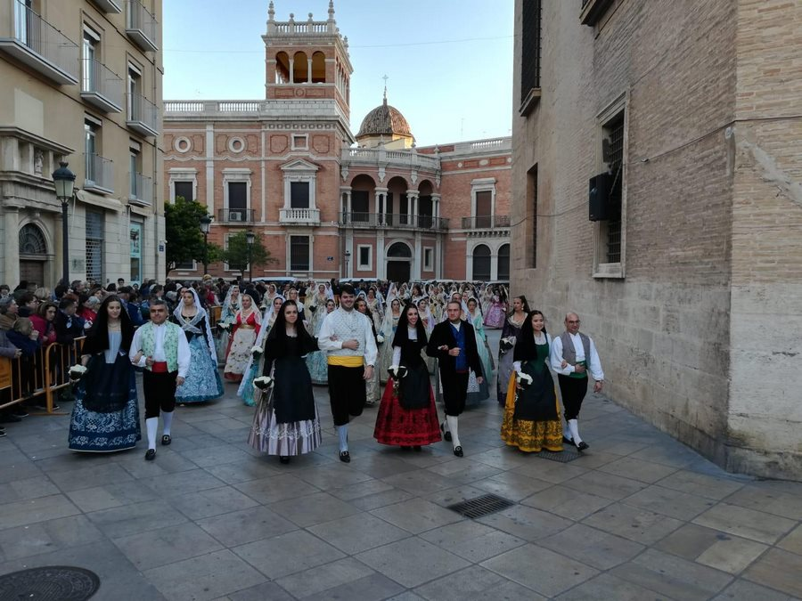 La Fiesta en las Fallas 2019